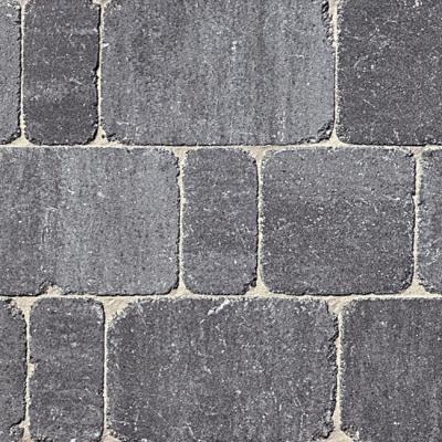 Pflastersteine gerumpelt Basalt