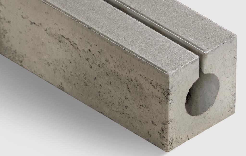 Rinnensteine aus beton
