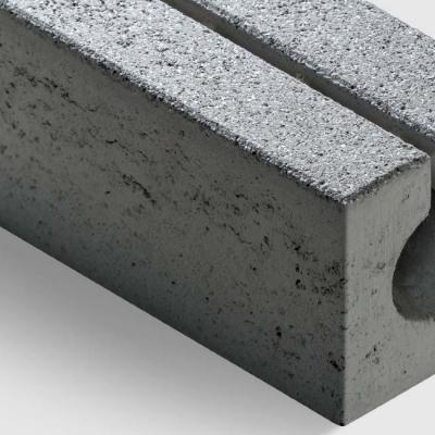 Rinnenstein granitgrau